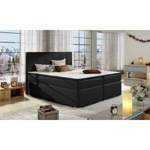 Artelta Manželská posteľ BOLERO Boxspring   140x200 cm Bolero rozmer: 140x200 cm, Bolero farba: Soft 11