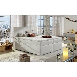 Artelta Manželská posteľ BOLERO Boxspring   140x200 cm Bolero rozmer: 140x200 cm, Bolero farba: Soft 17