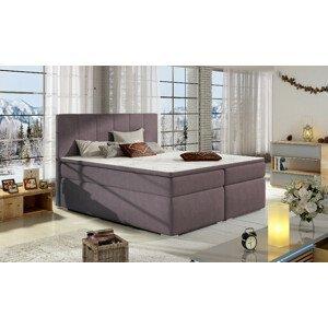 Artelta Manželská posteľ BOLERO Boxspring   140x200 cm Bolero rozmer: 140x200 cm, Bolero farba: Soro 65