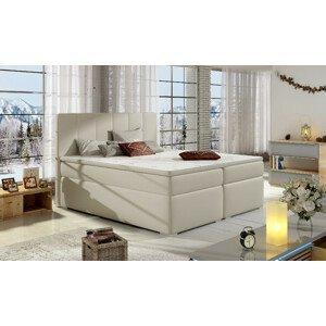 Artelta Manželská posteľ BOLERO Boxspring   180x200 cm Bolero rozmer: 180x200 cm, Bolero farba: Soft 33