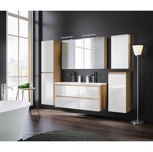 ArtCom Kúpeľňový komplet MONAKO White Oak 120