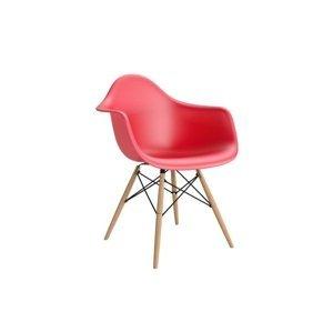 ArtKwa Stolička P018W /inšpirovaná DAR/ Farba: Červená