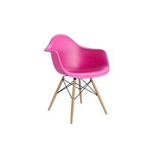 ArtKwa Stolička P018W /inšpirovaná DAR/ Farba: Ružová