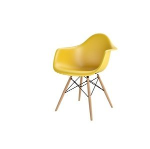ArtKwa Stolička P018W /inšpirovaná DAR/ Farba: Žltá