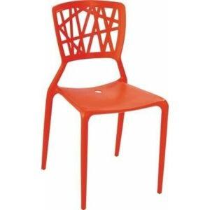 Stolička BUSH /INŠPIROVANá VIENTO CHAIR/ Farba: Červená