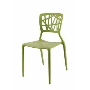 Stolička BUSH /INŠPIROVANá VIENTO CHAIR/ Farba: Zelená