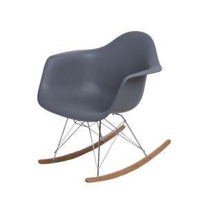 Dizajnová stolička P018RR /inšpirovane RAR/ Farba: Tmavo sivá