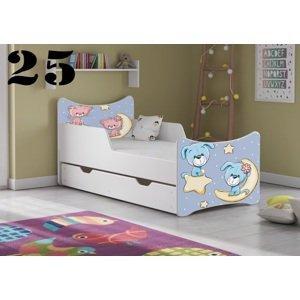 Detská posteľ SMB - zvieratá Prevedenie: Obrázok č.25