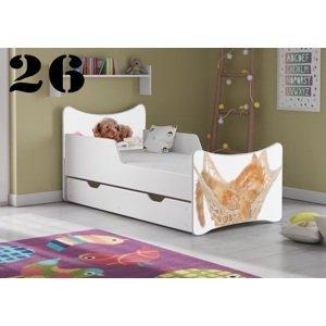 Detská posteľ SMB - zvieratá Prevedenie: Obrázok č.26