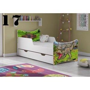 Detská posteľ SMB - zvieratá Prevedenie: Obrázok č.17