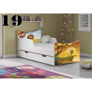 Detská posteľ SMB - zvieratá Prevedenie: Obrázok č.19