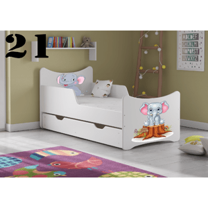 Detská posteľ SMB - zvieratá Prevedenie: Obrázok č.21