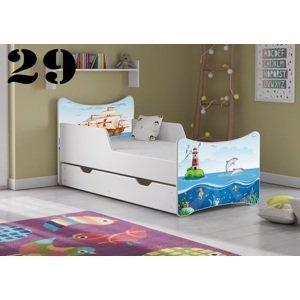 Detská posteľ SMB Pes a mačka 16 Prevedenie: Obrázok č.29