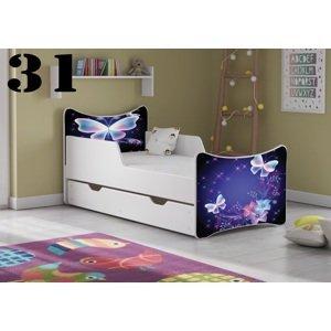 Detská posteľ SMB Pes a mačka 16 Prevedenie: Obrázok č.31