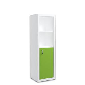 ArtAJ Regál FILIP malý / COLOR Farba: biela / zelená