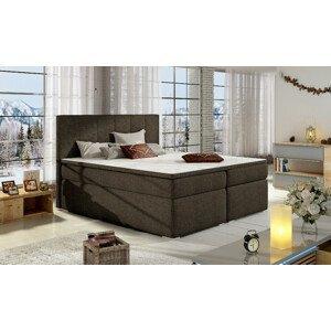 Artelta Manželská posteľ BOLERO Boxspring   160x200 cm Bolero rozmer: 160x200 cm, Bolero farba: Sawana 26