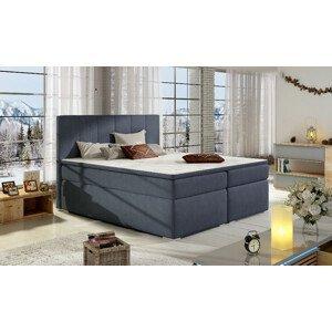 Artelta Manželská posteľ BOLERO Boxspring   160x200 cm Bolero rozmer: 160x200 cm, Bolero farba: Soro 76