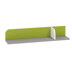 MLnábytok Polička IQ 15 Farba: Zelená