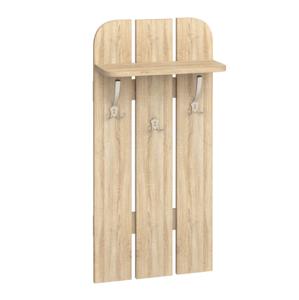MLnábytok Vešiakový panel W 50-01 Farba: dub sonoma