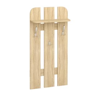 MLnábytok Vešiakový panel W 59-01 Farba: dub sonoma