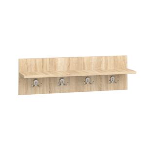 MLnábytok Vešiakový panel W 80-02 Farba: dub sonoma