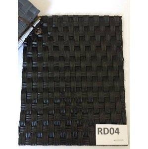 Siesta Garden  Ratanový kvetináč SG03130 Farba: RD04 čierna