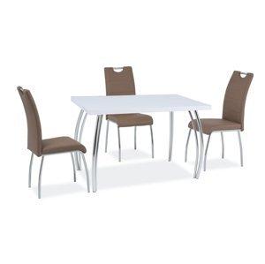 Signal Jedálenský stôl SK-2 | 102x64 Farba: biely lesk