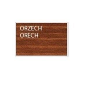 Drewmax Drevená ozdobná studňa MO150 farebné prevedenie: Orech Ø 120 cm