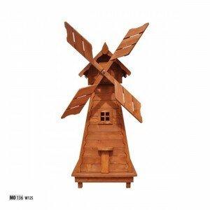 Drewmax Ozdobný veterný mlyn Prevedenie: MO136 - V 125cm