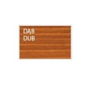 Drewmax Ozdobný drevený kvetináč MO272 Farba: Dub