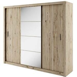 Dig-net nábytok Šatníková skriňa Idea ID-01 Farba: Dub san Remo