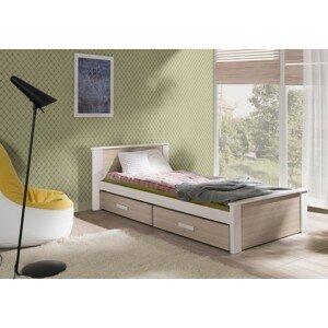 ArtBed Detská posteľ Aldo 90 x 200 cm Prevedenie: Morenie - Akryl