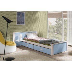ArtBed Detská posteľ Aldo Plus 100 x 200 cm Prevedenie: Morenie - Akryl