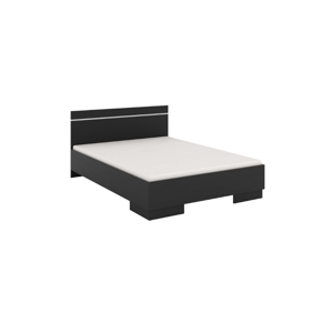 ArtStol Manželská posteľ VISTA 140 Farba: Čierna