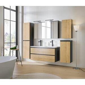 ArtCom Kúpeľňový komplet MONAKO Grey Oak 120
