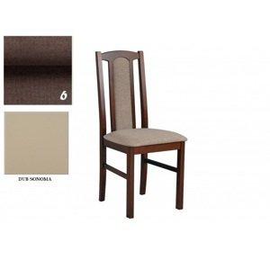 Drewmix Jedálenská stolička BOSS 7 dub sonoma/ 6
