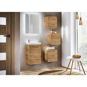 ArtCom Kúpeľňový komplet Aruba Craft 60   dub craft zlatý
