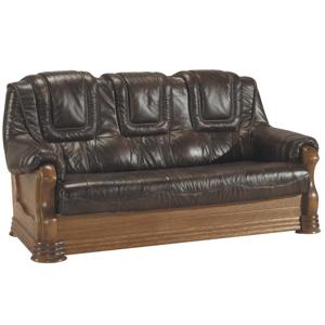 Pyka Kožená sedacia súprava ANETA II Prevedenie: 3-sed / bez rozkladu 3N