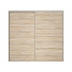BRW Dvere skrine: NADIR - FRN/250/260 Farba: dub sonoma