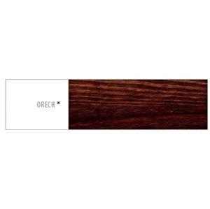 Drewmax Zrkadlo - masív LA117   borovica Farba: Orech