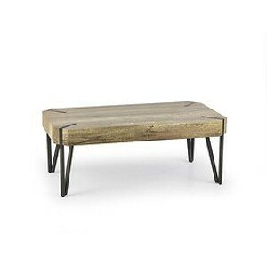 Konferenčný stolík: HALMAR EMILY HALMAR - drevo: MDF laminovaná - dub divoký