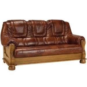 Pyka Kožená sedacia súprava ROMA Prevedenie: 3-sed / bez rozkladu