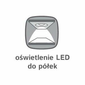 BRW LED osvetlenie k vitríne: RENO - REG1W2S Voliteľná možnosť: osvetlenie