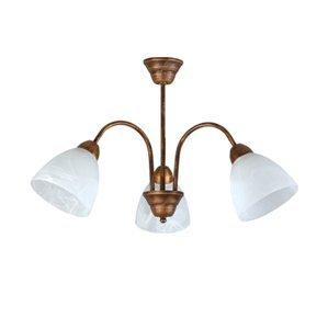 Závesné svietidlo Lampex 119/3 patina