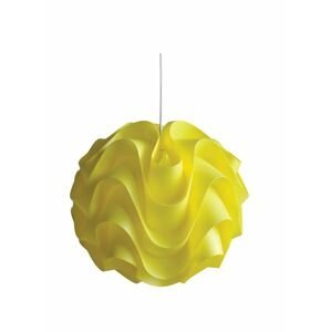 Plastový luster Senti W-3022 žltá