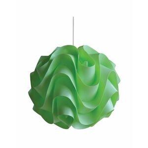 Plastový luster W-3022 zelená