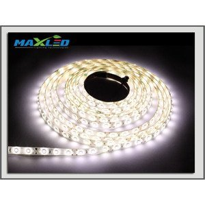 LED pás Max-Led 300SMD 5986 50W 5m studená bílá 6000 K