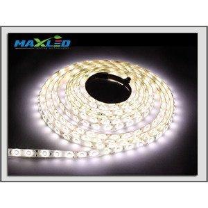 LED pásik Max-Led 300SMD 6013 50W 5m studená biela 6000K IP65