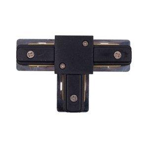 Spojka pre kolajnicový systém Nowodvorski T 9186 čierna