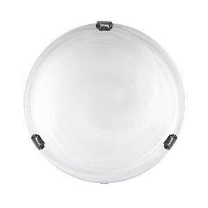 Stropné svietidlo Lampex 211/P1 DUNA biela